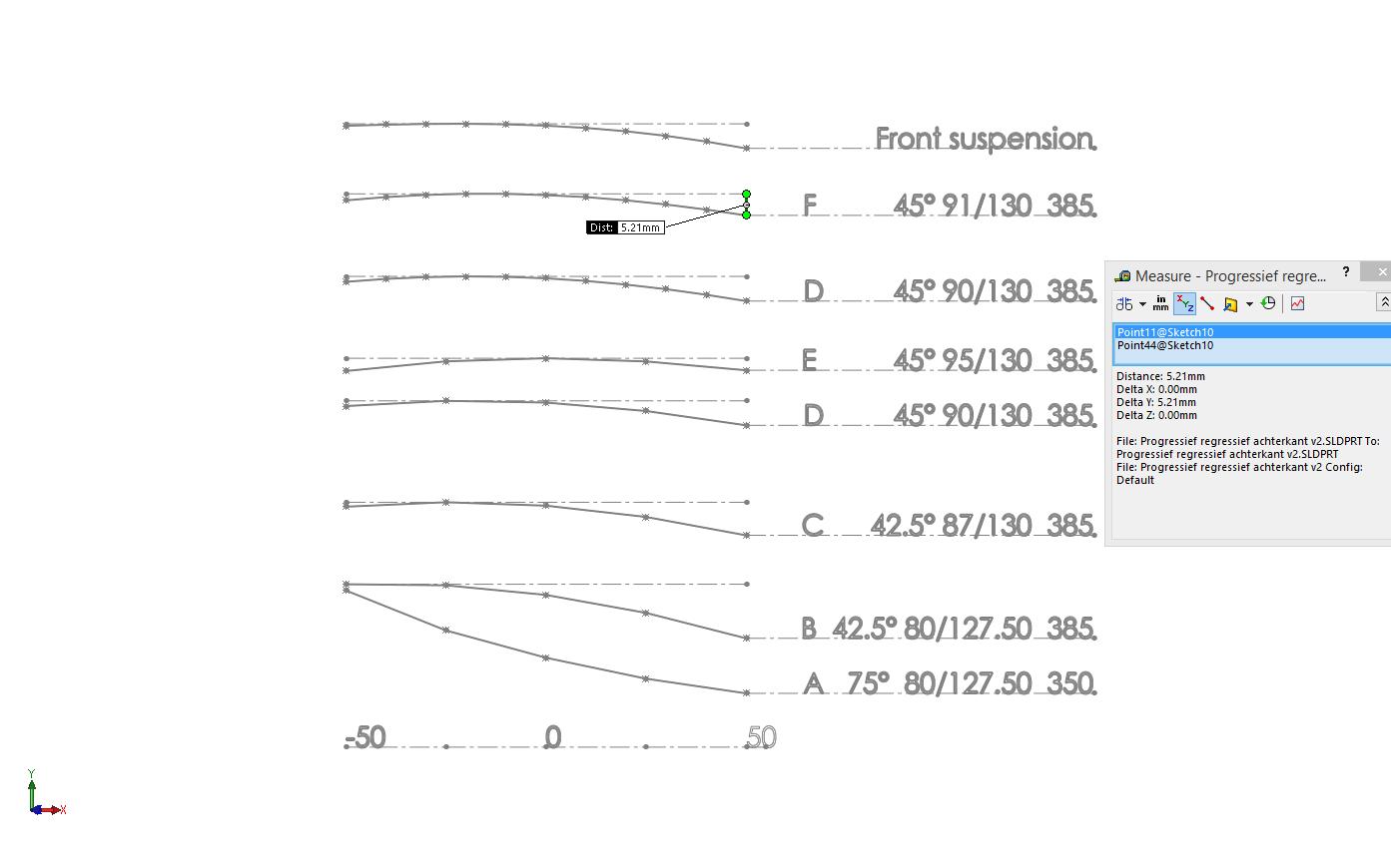 Bellcrank graph rear